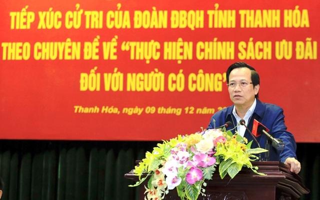 Bộ trưởng Đào Ngọc Dung: Thắc mắc của dân mà giải quyết được thì trả lời ngay - 1