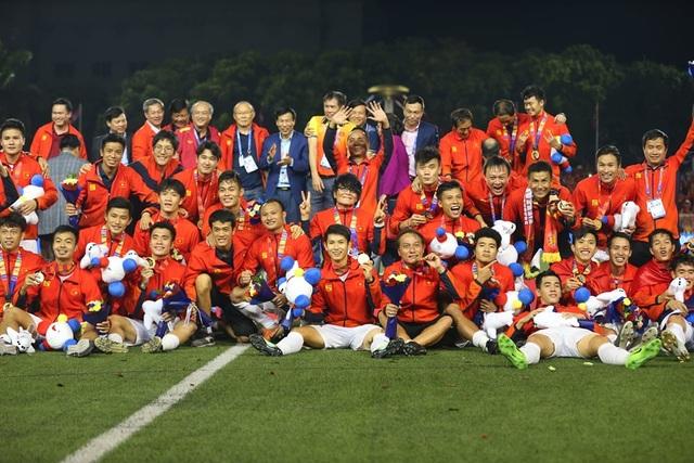 Đại thắng trước U22 Indonesia, U22 Việt Nam lần đầu tiên vô địch SEA Games - 1