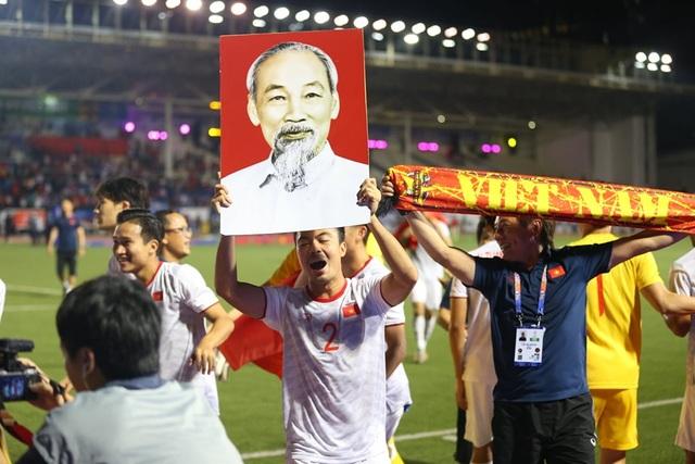 Đại thắng trước U22 Indonesia, U22 Việt Nam lần đầu tiên vô địch SEA Games - 3