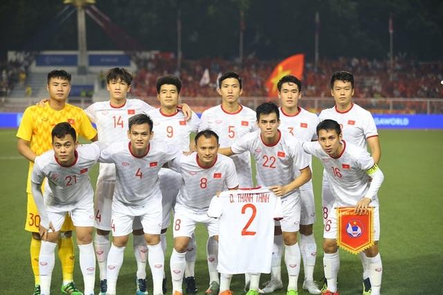 [ẢNH] Cảm xúc hạnh phúc của cầu thủ U22 Việt Nam trong chiến thắng lịch sử tại SEA Games - 5