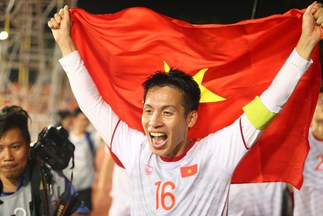 [ẢNH] Cảm xúc hạnh phúc của cầu thủ U22 Việt Nam trong chiến thắng lịch sử tại SEA Games - 23