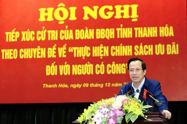 Bộ trưởng Đào Ngọc Dung: Thắc mắc của dân mà giải quyết được thì trả lời ngay - 5
