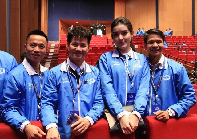 Á hậu Huyền My kể chuyện làm thiện nguyện tại Đại hội Hội LHTN Việt Nam - 2