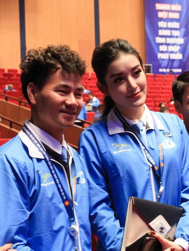 Á hậu Huyền My kể chuyện làm thiện nguyện tại Đại hội Hội LHTN Việt Nam - 3