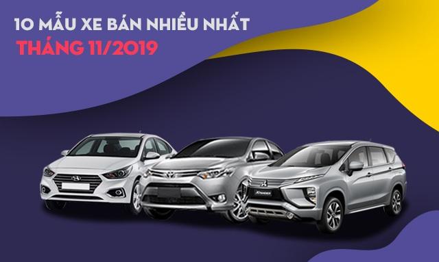 Thương hiệu nào bán nhiều xe nhất tháng 11/2019? - 2