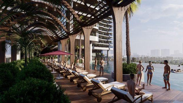 Giới nhà giàu Sài Gòn sắp đón nhận tổ hợp căn hộ Resort 4.0 ngay tại trung tâm Quận 4 - 6