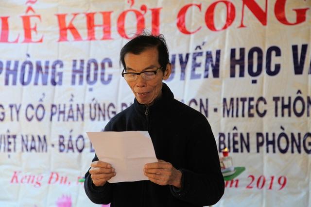 Báo Dân trí khởi công xây dựng trường Mầm non sát biên giới Việt - Lào - 1