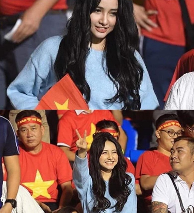 Nữ CĐV xinh đẹp được tìm kiếm sau chung kết bóng đá nam SEA Games 30 - 1