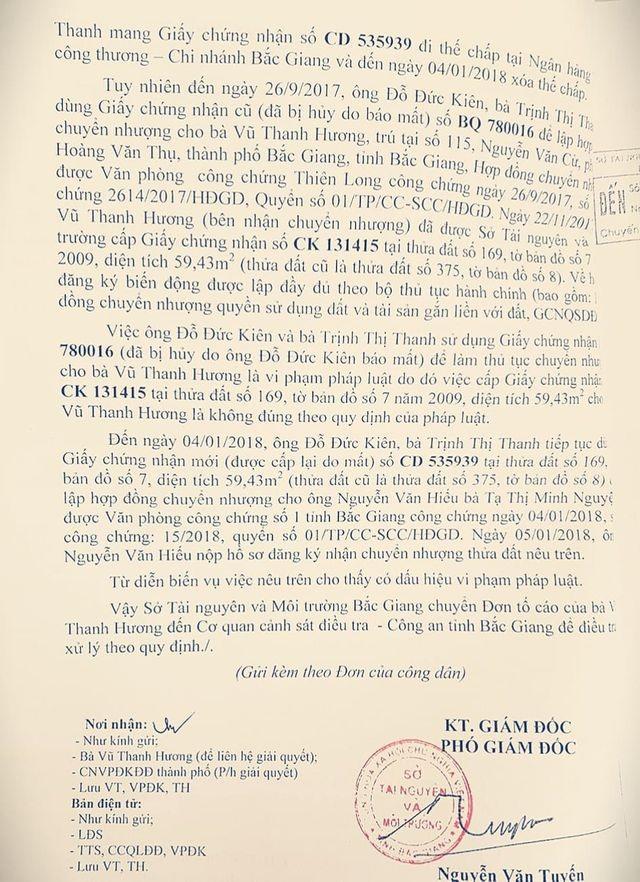 """Đang xem xét kỷ luật cán bộ cấp sổ đỏ """"ma"""" trong vụ lừa """"chấn động"""" tỉnh Bắc Giang - 5"""