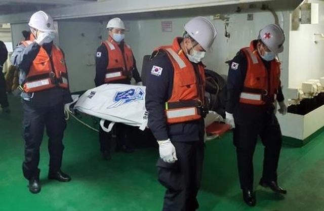 Hàn Quốc phát hiện thi thể 2 thủy thủ Việt Nam trong vụ chìm tàu - 1