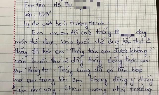 """Thầy giáo bị phụ huynh tố nói nữ sinh """"hàng to"""" trần tình sự việc - 5"""