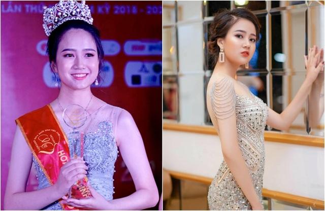 Hoa khôi Sinh viên 2018 trở thành biên tập viên truyền hình - 1