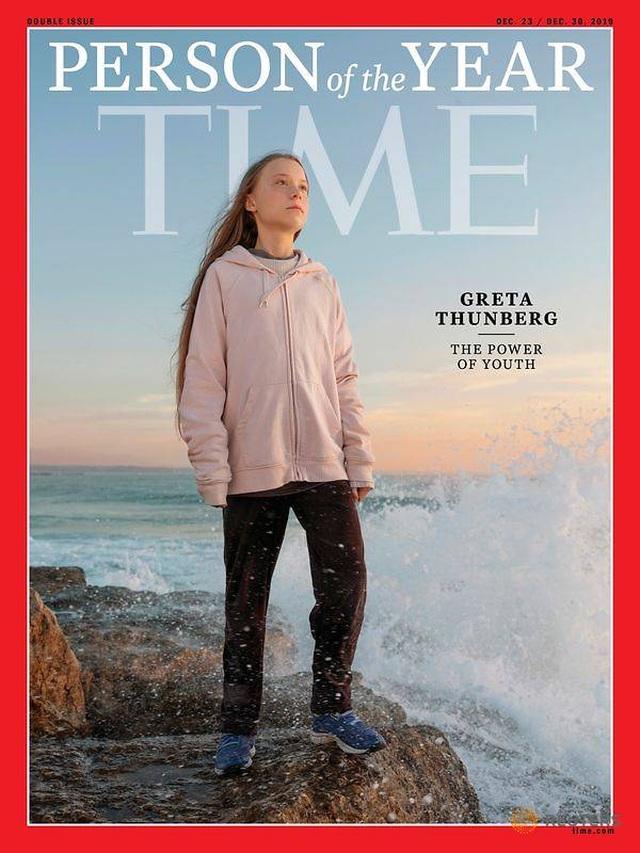 """Time chọn chiến binh môi trường 16 tuổi là """"Nhân vật của năm"""" - 1"""