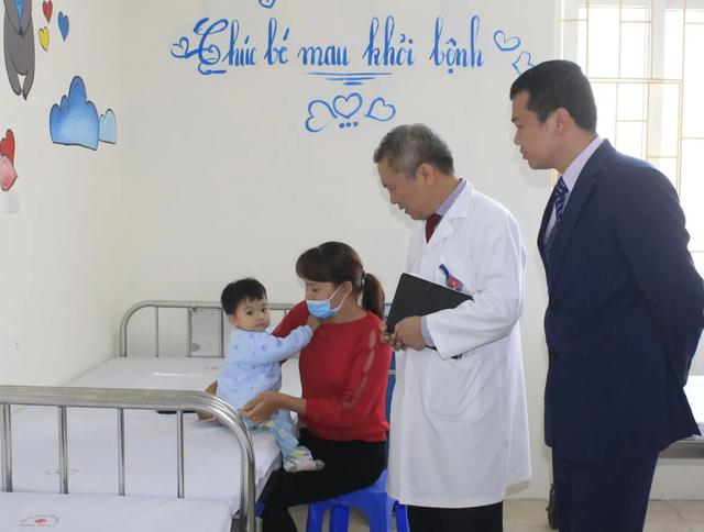 Lần đầu tiên có khoa Tim mạch trẻ em tại bệnh viện đa khoa - 1