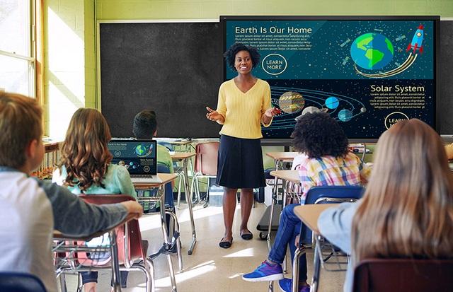 Ứng dụng màn hình tương tác thông minh: Công cụ đắc lực cho việc dạy học - 2