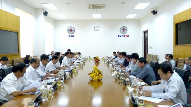 Thỏa thuận các dự án lưới điện giữa EVNNPT với EVNSPC và EVNHCMC - 1