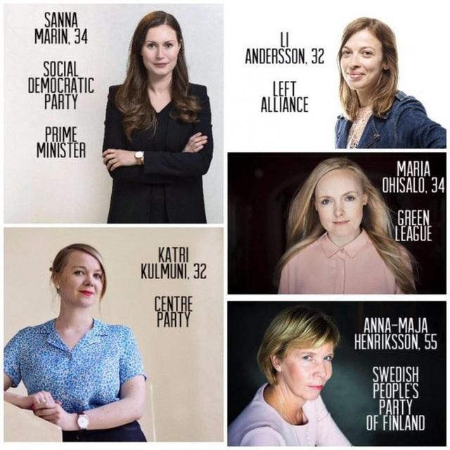 5 nữ tướng trẻ đẹp phất cờ lập chính phủ liên minh Phần Lan - 2