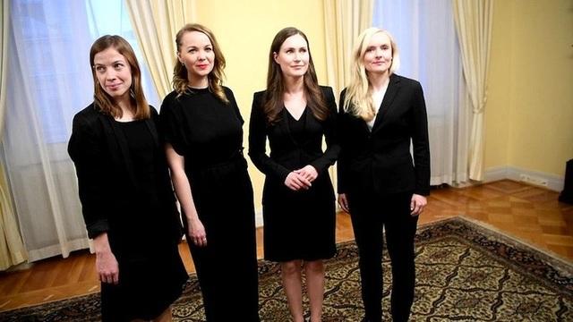 5 nữ tướng trẻ đẹp phất cờ lập chính phủ liên minh Phần Lan - 5