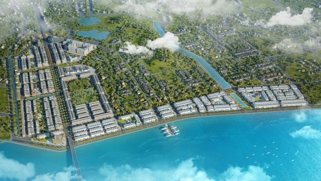Chủ tịch FLC thị sát tiến độ xây dựng khu đô thị ven biển hiện đại bậc nhất Quảng Ninh - 1