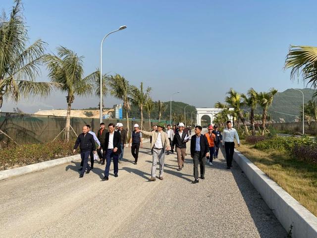 Chủ tịch FLC thị sát tiến độ xây dựng khu đô thị ven biển hiện đại bậc nhất Quảng Ninh - 2