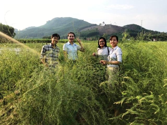 Quảng Ngãi: Rời việc Nhà nước, chàng trai 32 tuổi khởi nghiệp từ măng tây và nuôi thỏ - 3