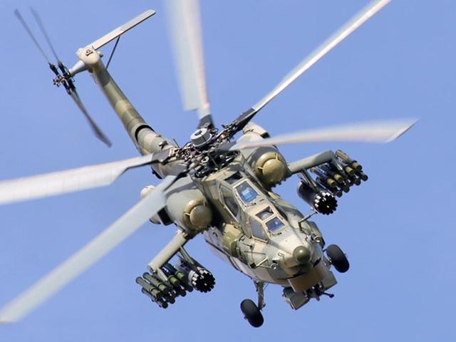Rơi trực thăng quân sự Nga, 2 người thiệt mạng - 1