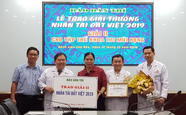 Bệnh viện Chợ Rẫy tặng từ thiện toàn bộ phần thưởng Nhân tài Đất Việt - 4