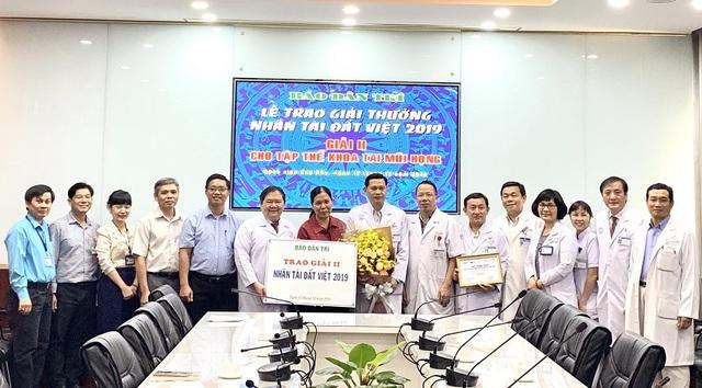Bệnh viện Chợ Rẫy tặng từ thiện toàn bộ phần thưởng Nhân tài Đất Việt - 5