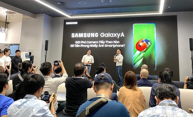 Samsung ra mắt Galaxy A51 đầu tiên trên thế giới chụp marco cận cảnh - 1