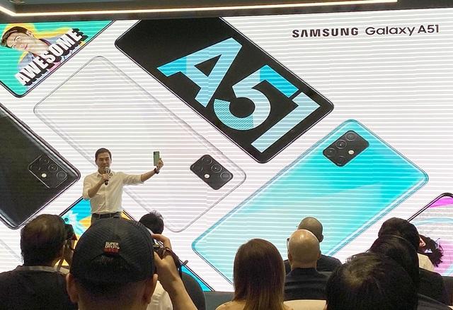 Samsung ra mắt Galaxy A51 đầu tiên trên thế giới chụp marco cận cảnh - 2