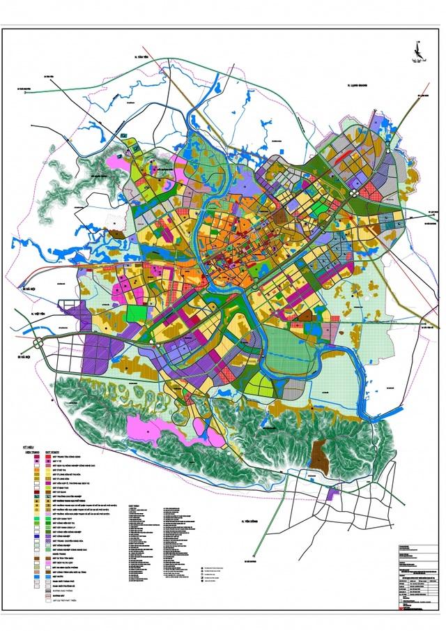 Thành phố Bắc Giang - mở rộng quy hoạch vùng lõi sang phía Đông Bắc - 2