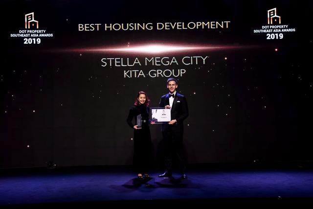 Stella Mega City khẳng định vị thế với cú đúp giải thưởng Dot Property Southeast Asia Awards 2019 - 2