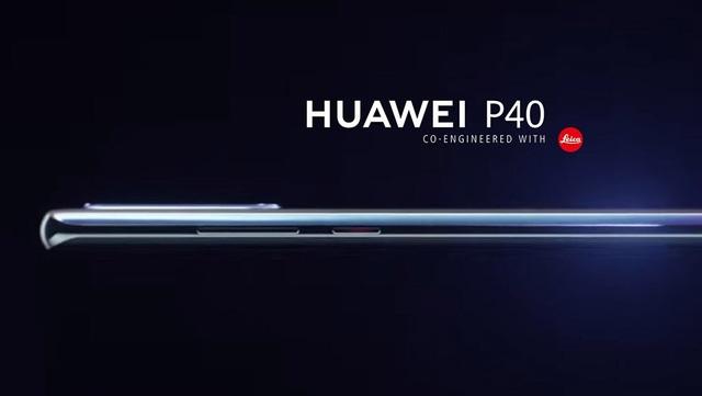 Huawei P40 lộ ảnh với màn hình cong, nút bấm vật lý - 1