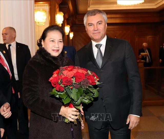Chủ tịch Quốc hội Nguyễn Thị Kim Ngân hội kiến Thủ tướng Liên bang Nga - 1