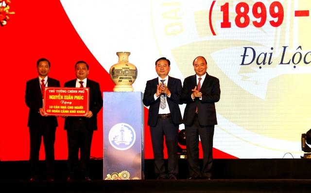 Thủ tướng Nguyễn Xuân Phúc dự kỷ niệm 120 năm thành lập huyện Đại Lộc
