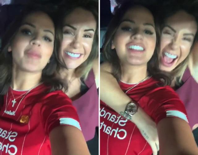 Bất ngờ trước tình bạn đẹp của hai bóng hồng CLB Liverpool - 4