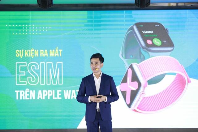 Viettel chính thức ra mắt eSim trên Apple Watch - 1