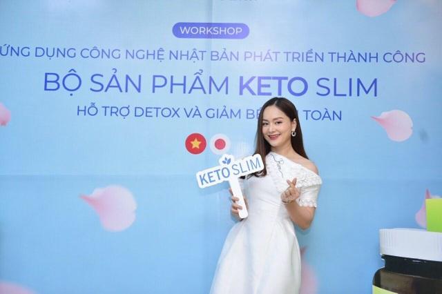 Giảm béo hiệu quả, thon thả đón Tết với bộ sản phẩm Keto Slim công nghệ Nhật Bản - 2