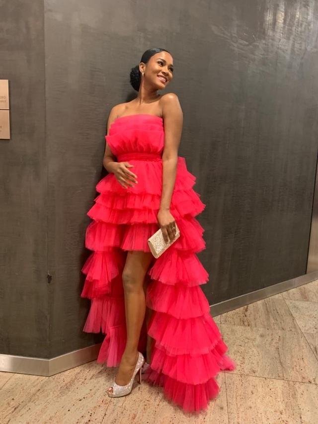 Hoa hậu Hoàn vũ 2011 diện váy cảm hứng hoa sen của nhà thiết kế Việt - 5