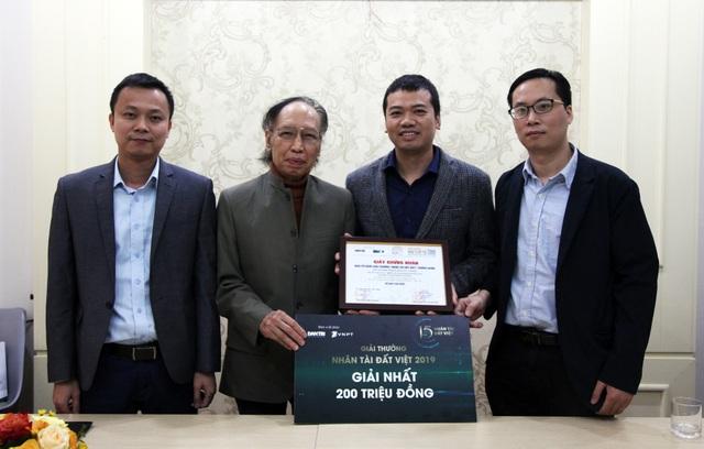 Nhân tài Đất Việt 2019 trao tặng Giải Nhất 200 triệu đồng tới tác giả - 9