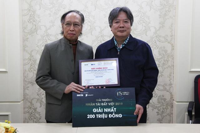 Nhân tài Đất Việt 2019 trao tặng Giải Nhất 200 triệu đồng tới tác giả - 7