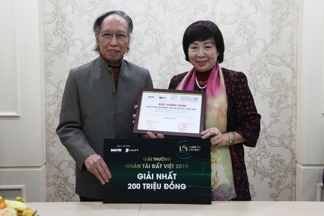 Nhân tài Đất Việt 2019 trao tặng Giải Nhất 200 triệu đồng tới tác giả - 6