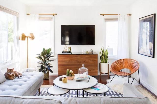 """""""Ăn gian"""" diện tích cho phòng khách từ 10 ý tưởng đơn giản không ngờ - 2"""