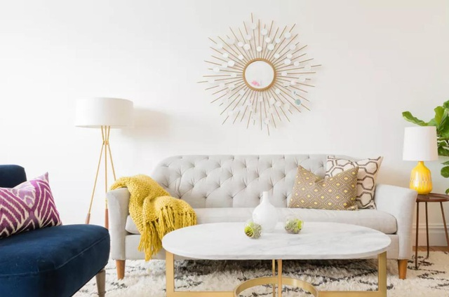 """""""Ăn gian"""" diện tích cho phòng khách từ 10 ý tưởng đơn giản không ngờ - 3"""
