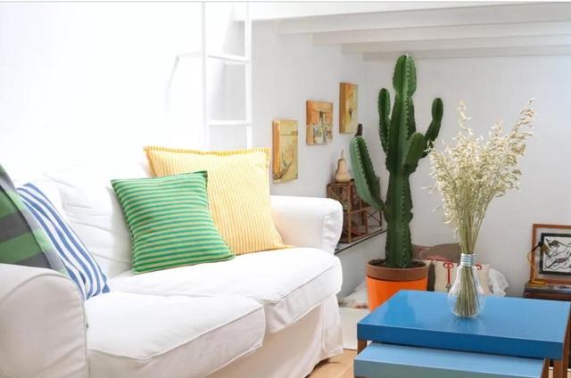 """""""Ăn gian"""" diện tích cho phòng khách từ 10 ý tưởng đơn giản không ngờ - 5"""