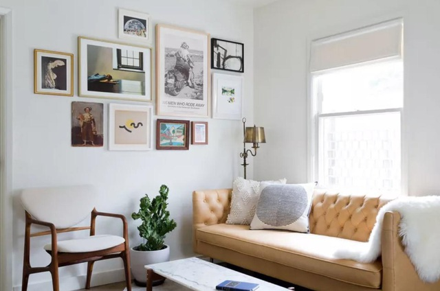 """""""Ăn gian"""" diện tích cho phòng khách từ 10 ý tưởng đơn giản không ngờ - 8"""