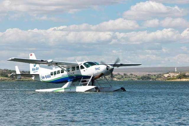 Thủy phi cơ của hãng bay Hải Âu liên tiếp gặp sự cố về càng - 1