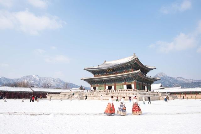 Khám phá xứ Hàn trong mùa tuyết rơi - 1