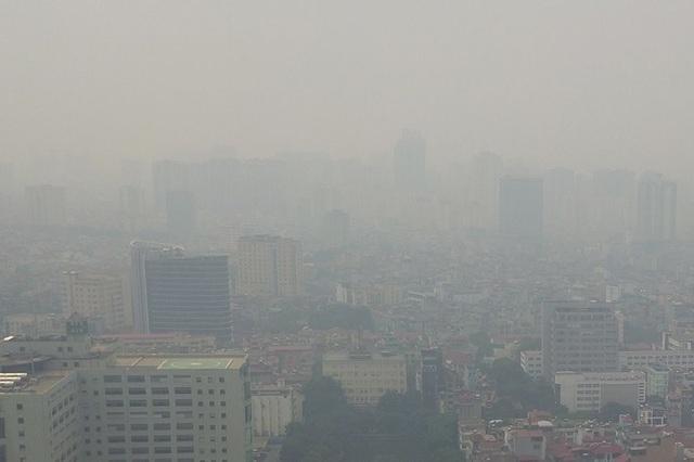 Bộ TN-MT họp khẩn tìm giải pháp kiểm soát ô nhiễm không khí - 1