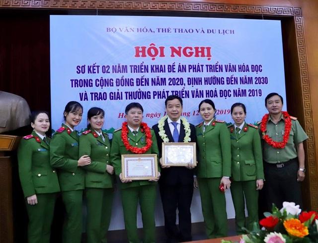 First News nhận giải thưởng vì thành tích xuất sắc trong phát triển văn hoá đọc - 4
